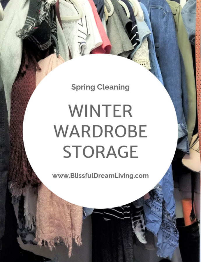 Spring Cleaning: Fall & Winter Wardrobe